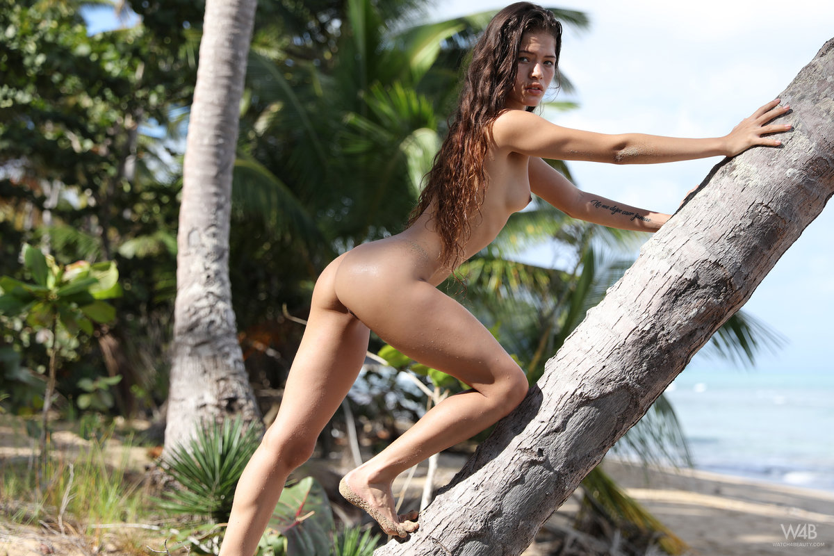 Irene Rouse – Warming Up On The Beach